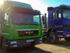 MAN TGL & Mercedes Actros MP1 (2)